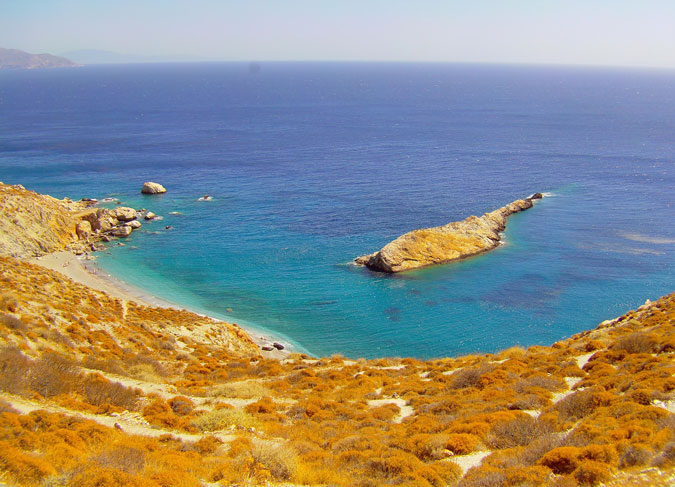Folegandros featured in NYT