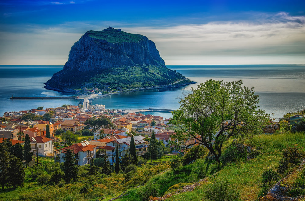 MONEMVASIA: Enter the causeway and sail to another time!
